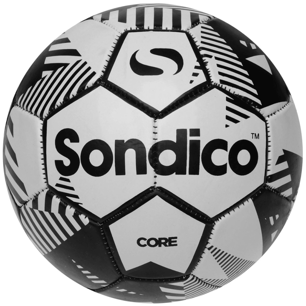 SONDICO Core XT Soccer Ball - WHITE/BLACK