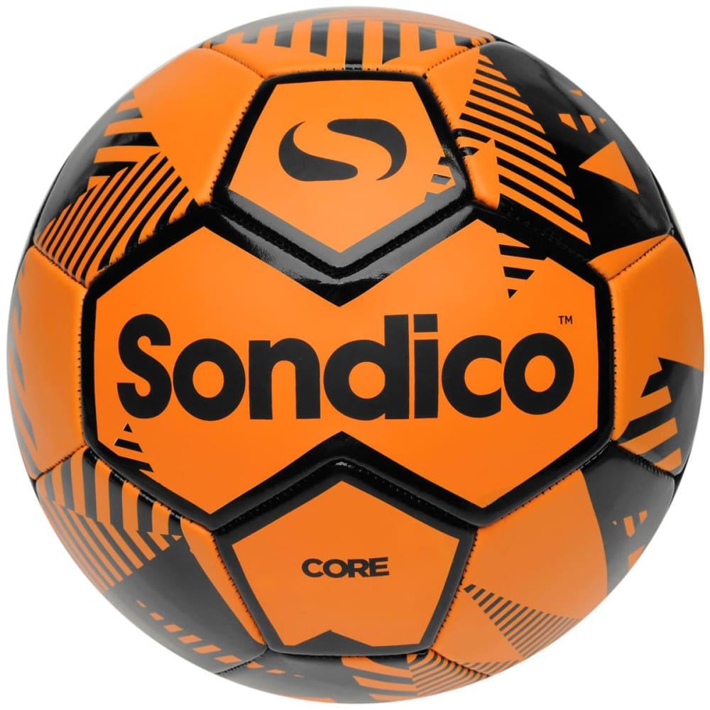 SONDICO Core XT Soccer Ball - ORANGE/BLACK