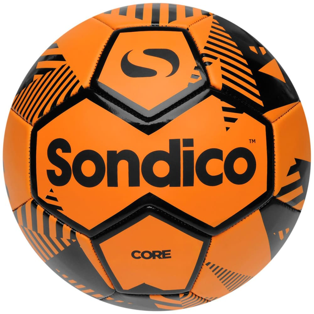 SONDICO Core XT Mini Soccer Ball - ORANGE/BLACK