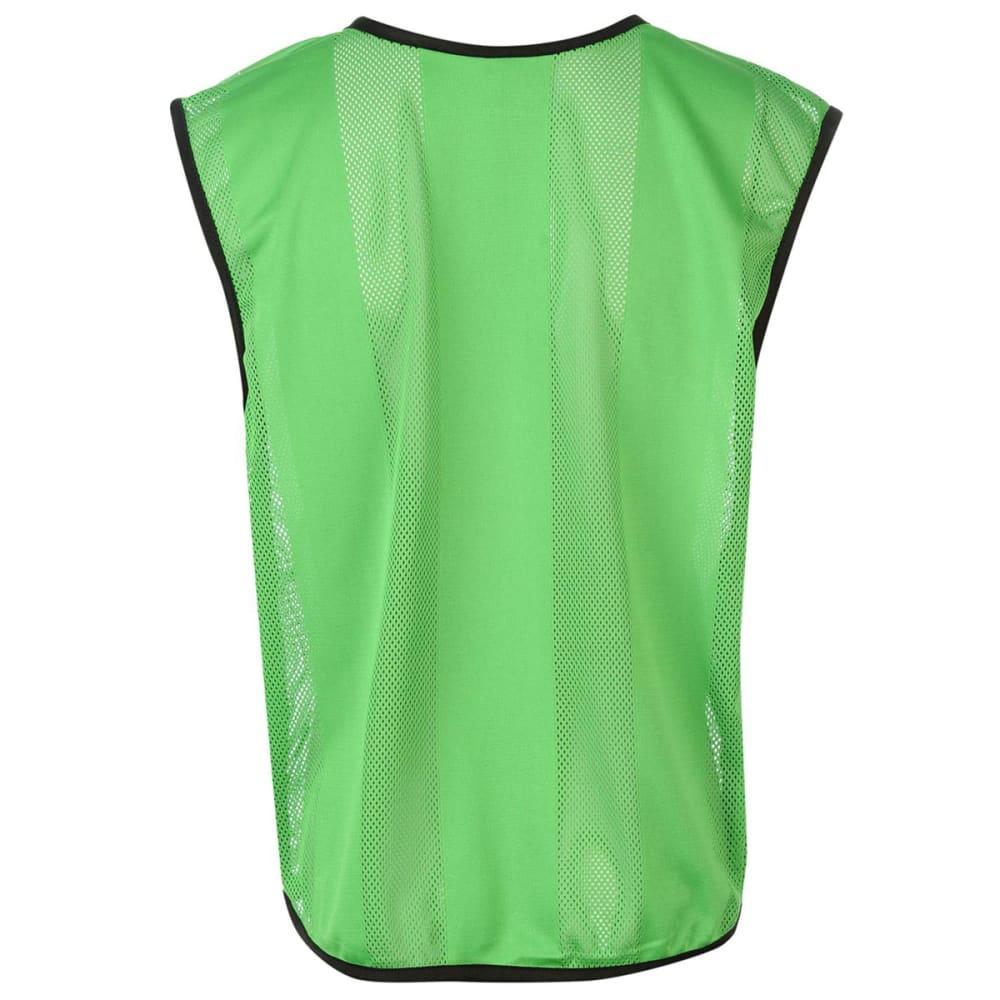 SONDICO Mesh Bibs, 6-Pack - Fluo Green