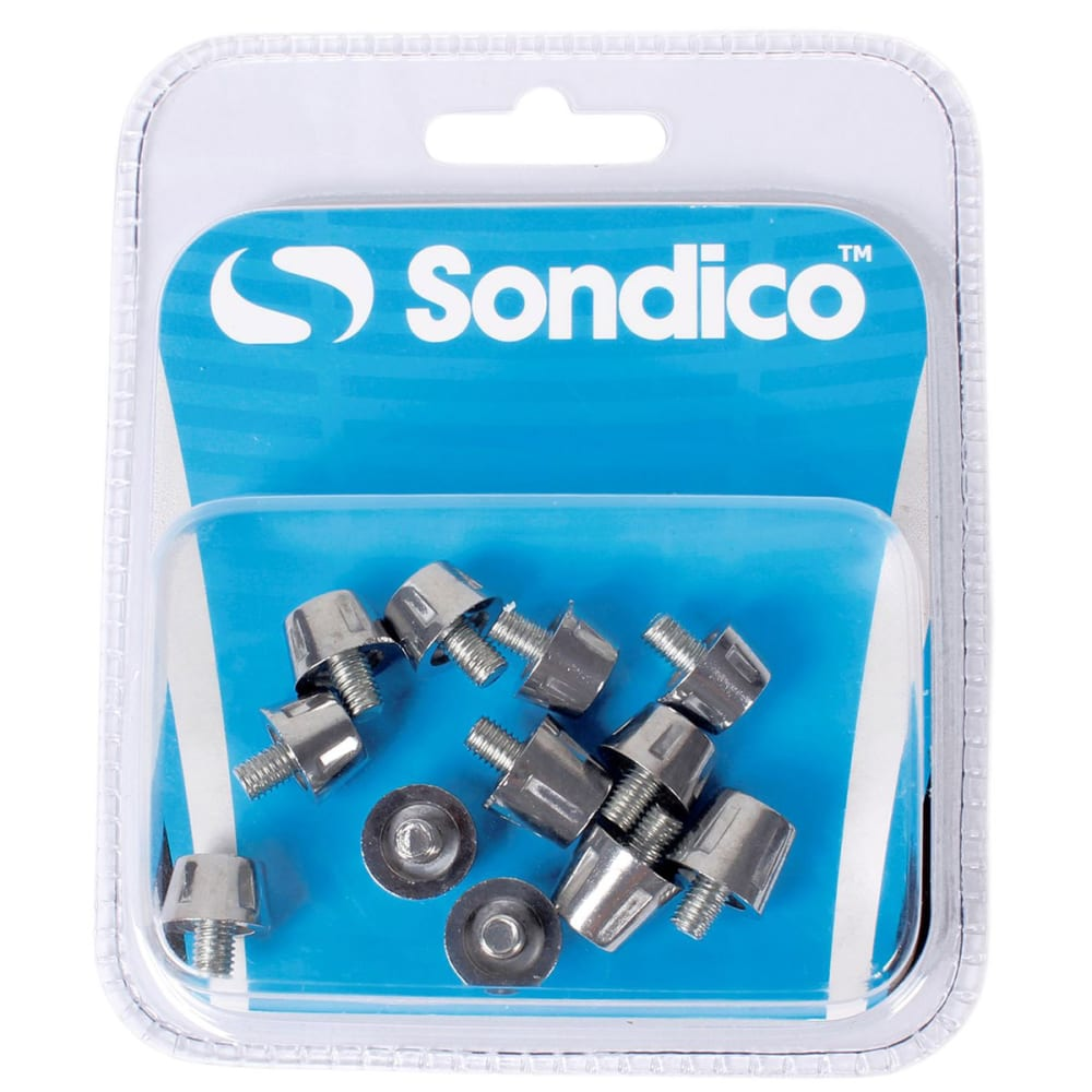 SONDICO Pro Alloy Soccer Cleat Studs - SILVER
