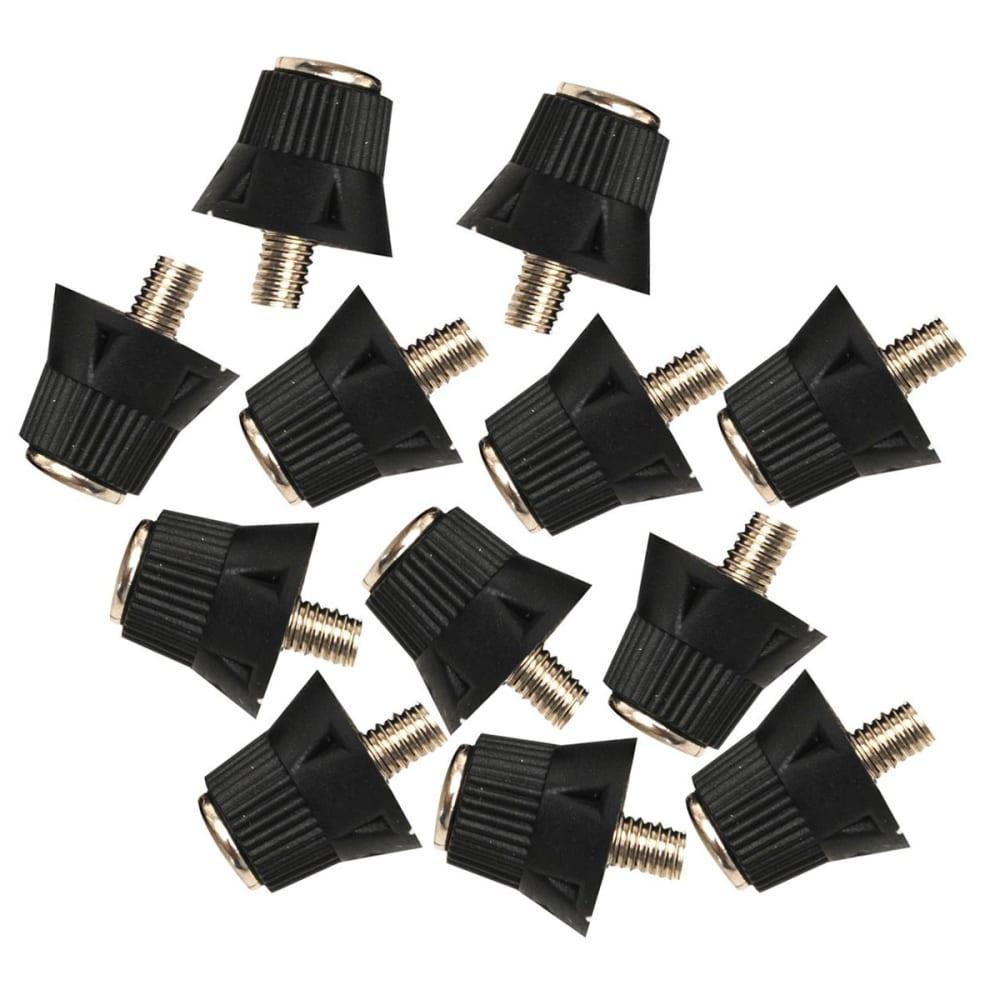 Sondico Pro Alloy Tipp Soccer Cleat Studs - Black, ONESIZE