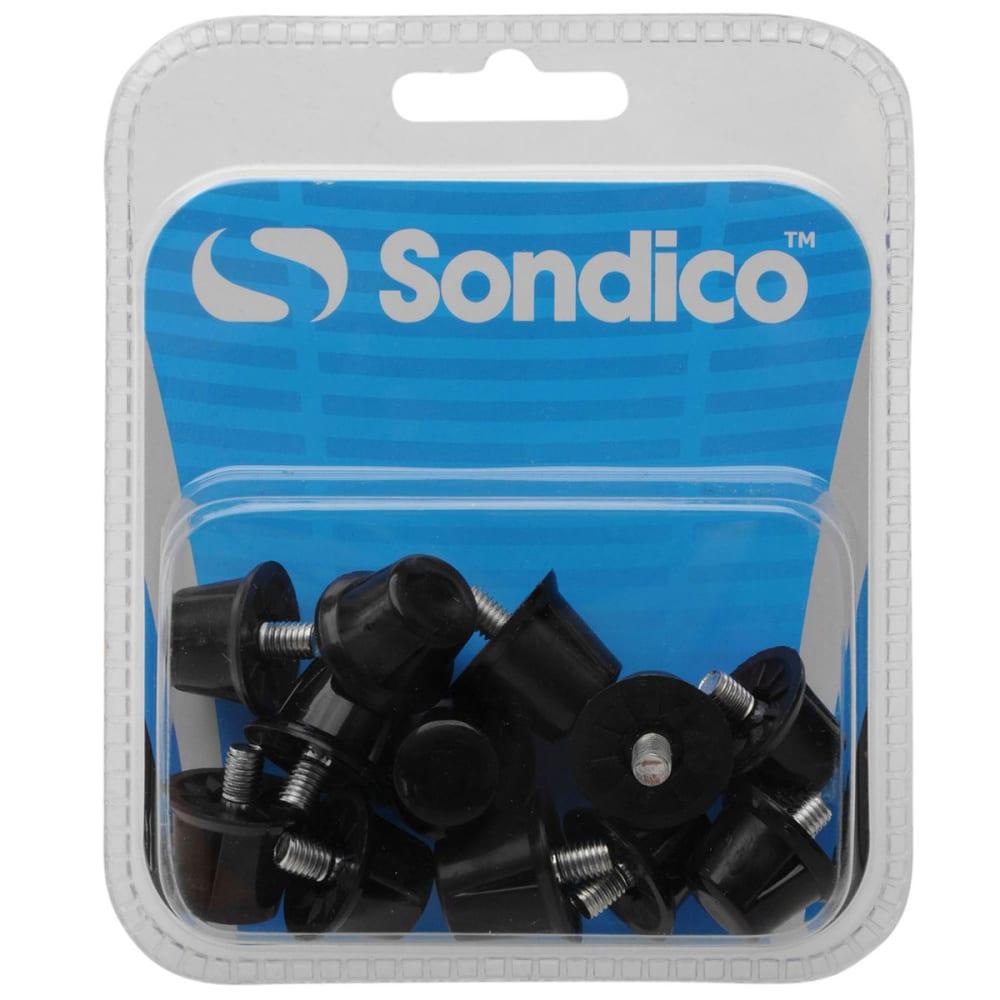 SONDICO Safety Soccer Cleat Studs - BLACK/WHITE