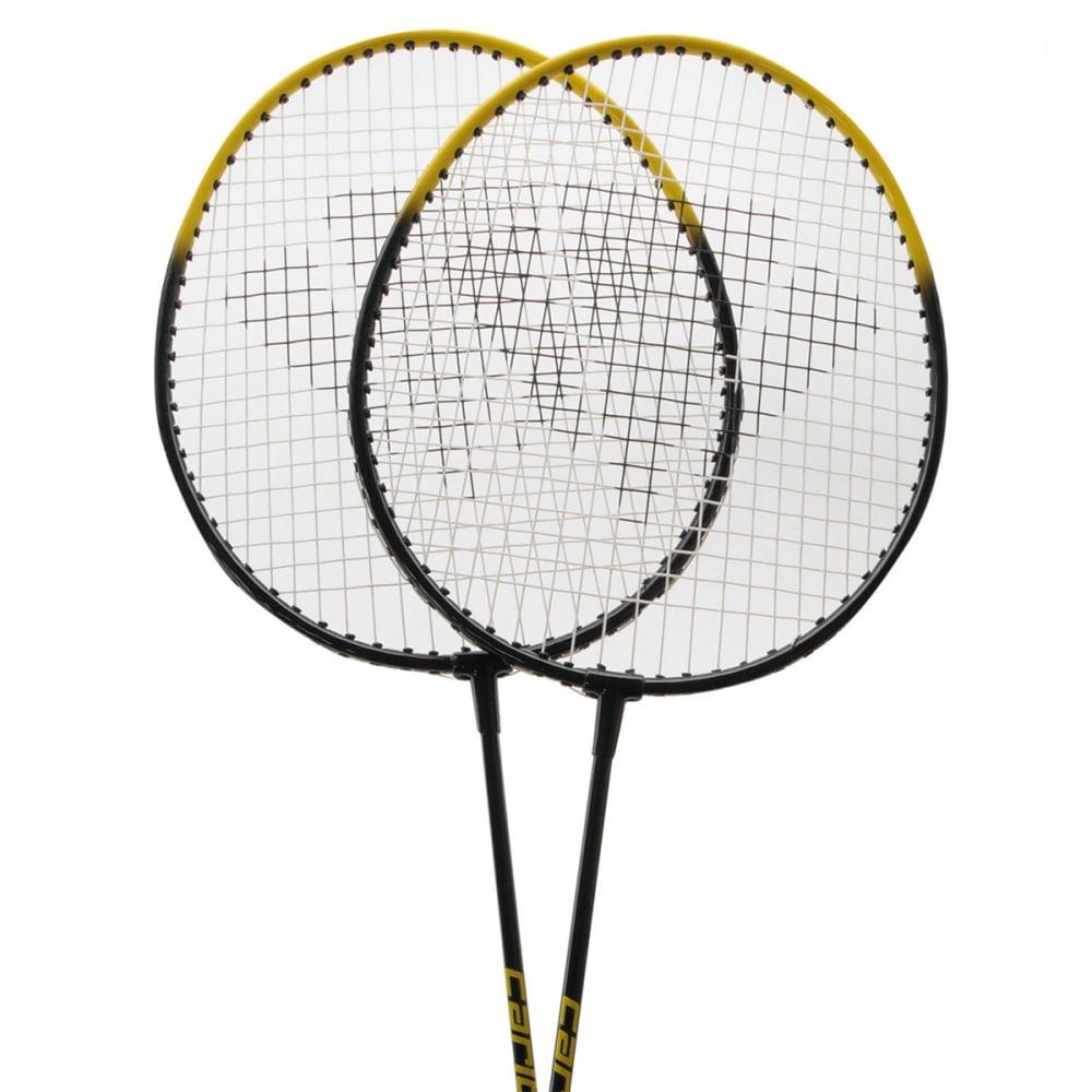 CARLTON 2-Player Badminton Set - BLACK/YELLOW