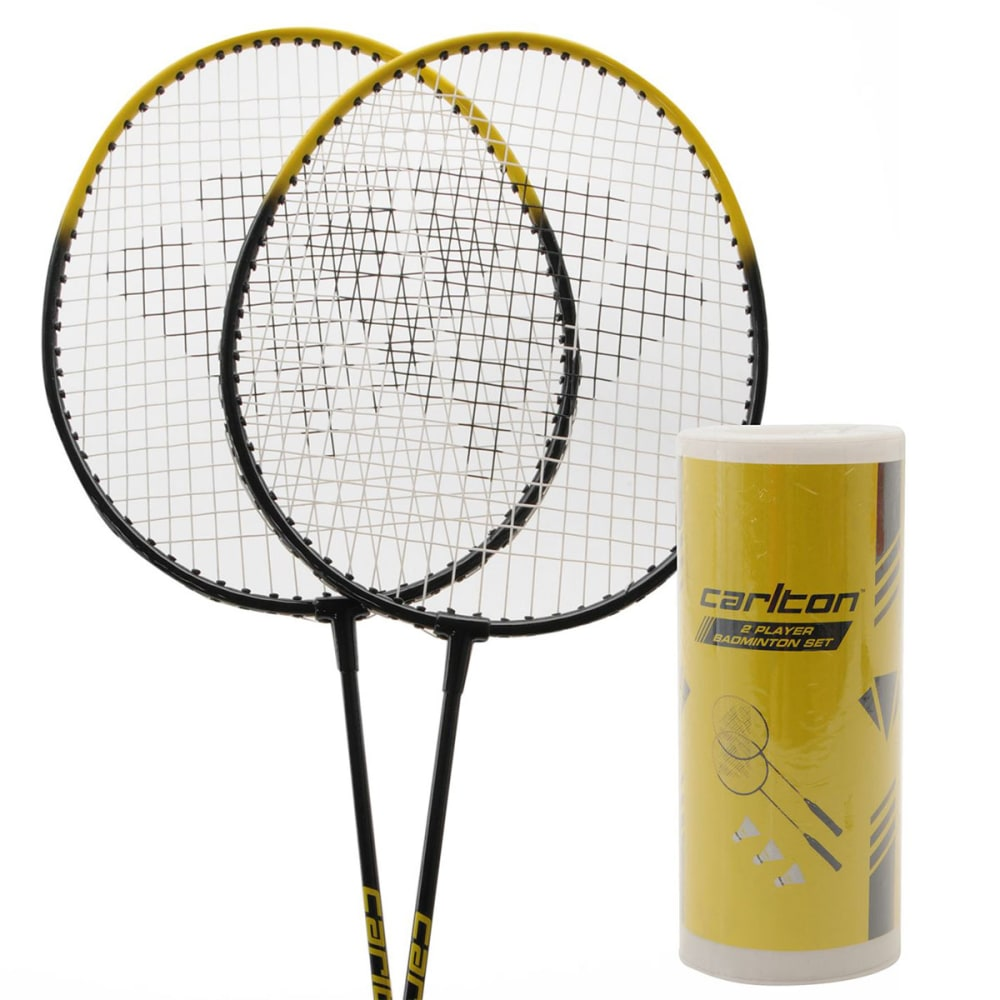 CARLTON 2-Player Badminton Set - BLACK/YELLOW