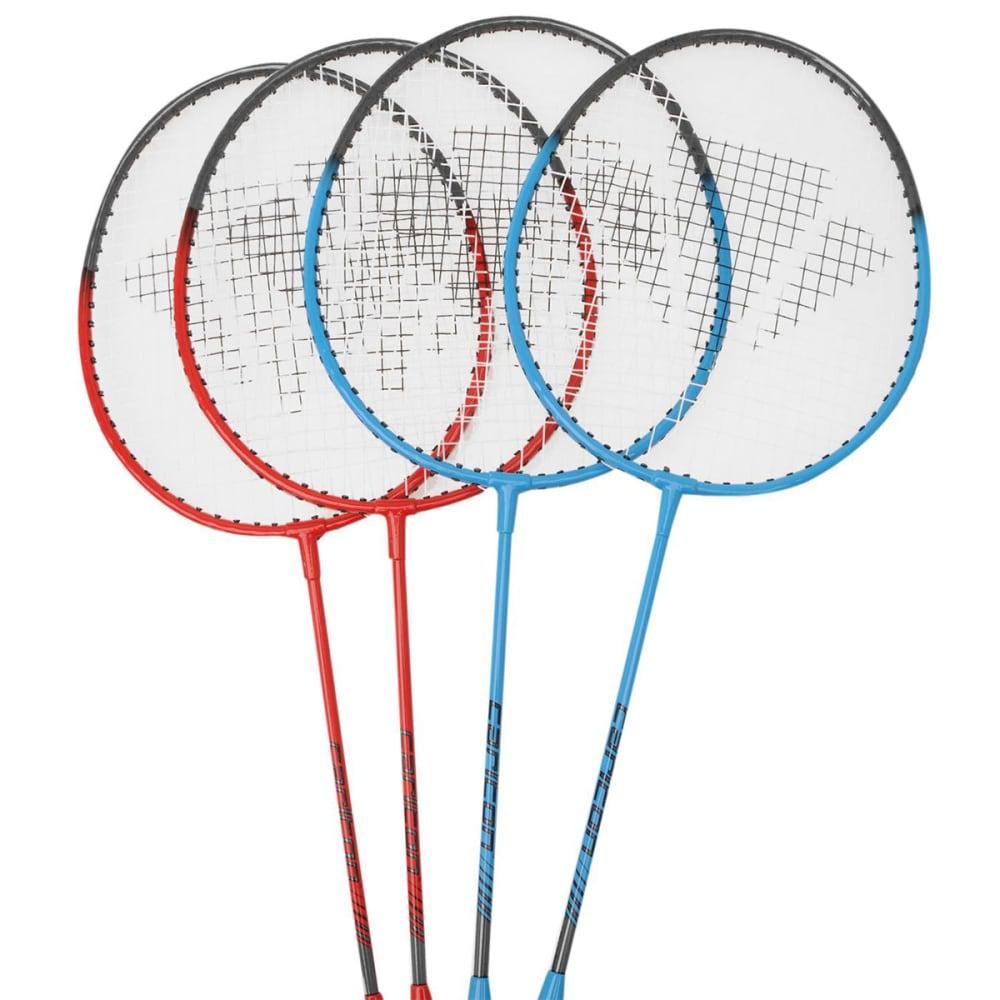 CARLTON 4-Player Badminton Set - RED/BLUE