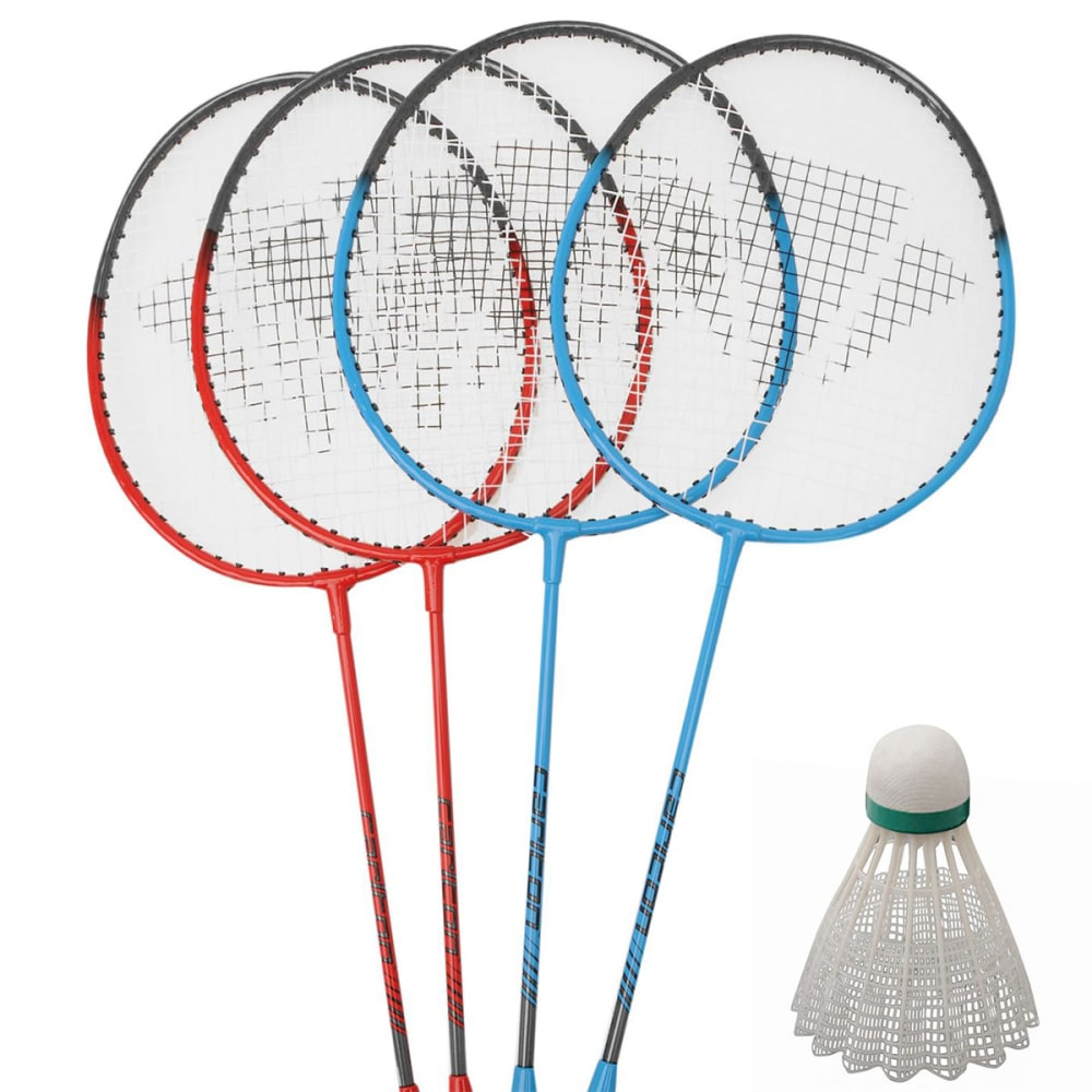 Carlton 4-Player Badminton Set - Various Patterns, ONESIZE