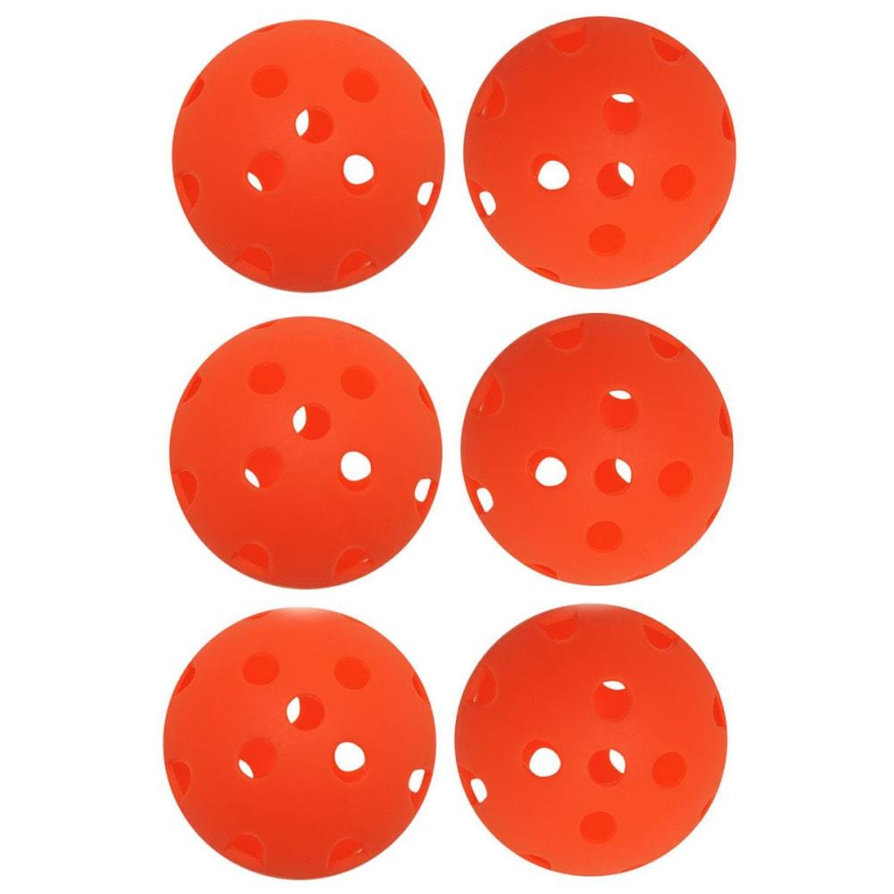DUNLOP Air Golf Balls, 6 Pack - ORANGE