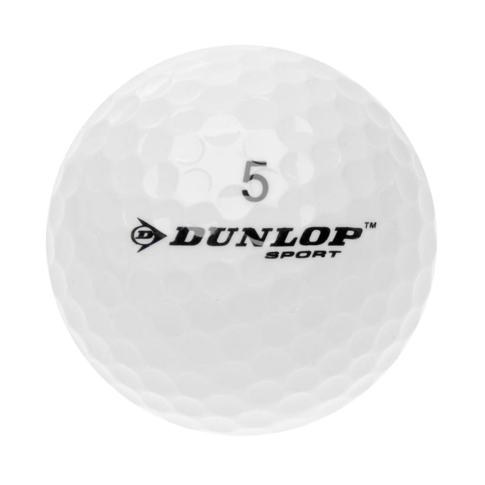 DUNLOP DDH Ti Golf Balls, 15 Pack - WHITE