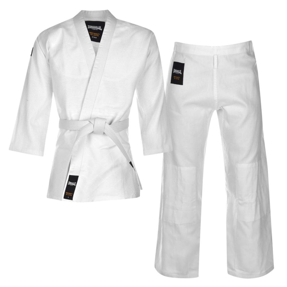 Lonsdale Unisex Judo Suit - White, L