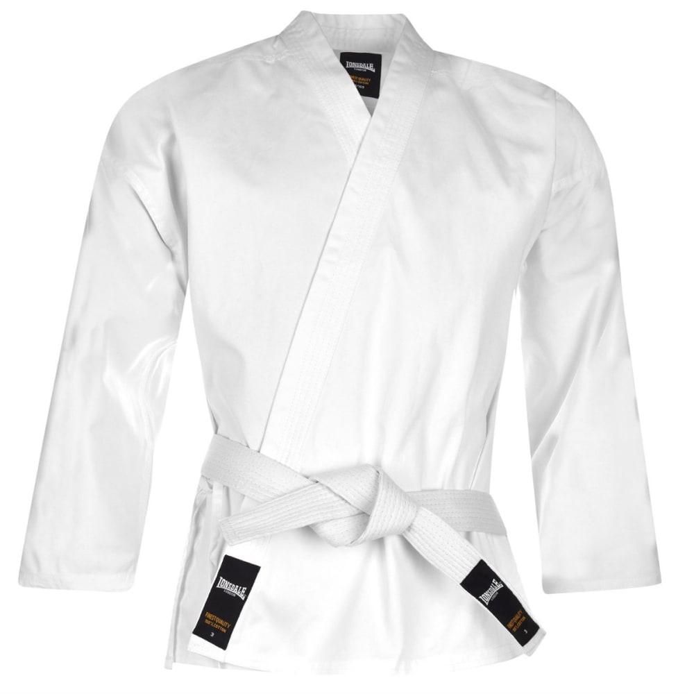 LONSDALE Unisex Karate Suit - WHITE