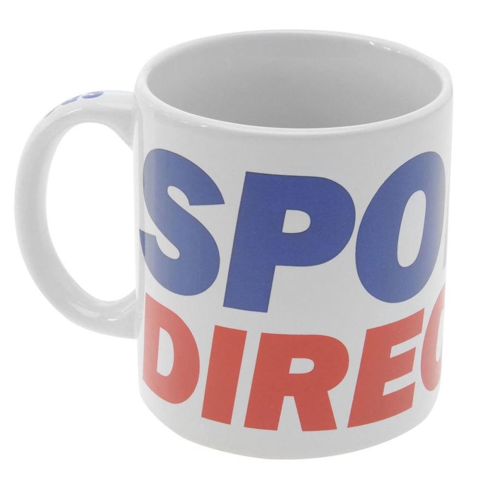 SPORTSDIRECT Store Mug - White/Blue/Red