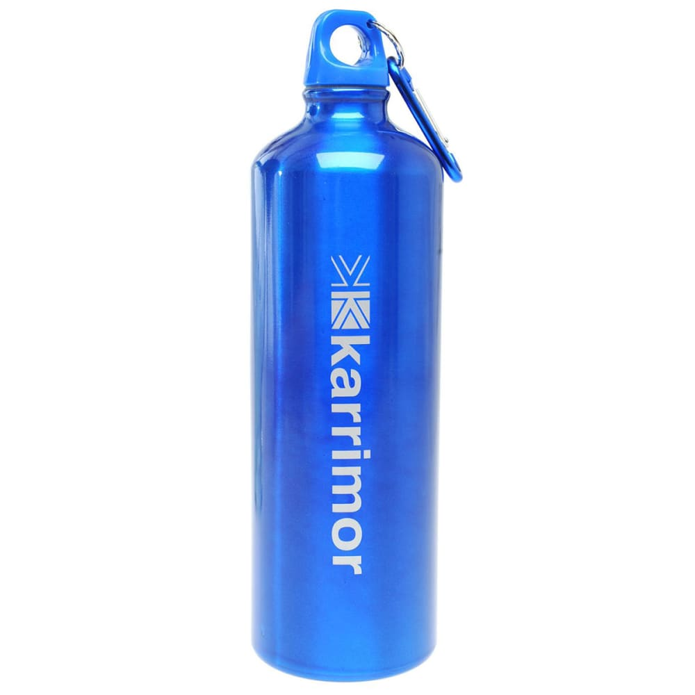 KARRIMOR 1L Aluminum Drink Bottle - BLUE