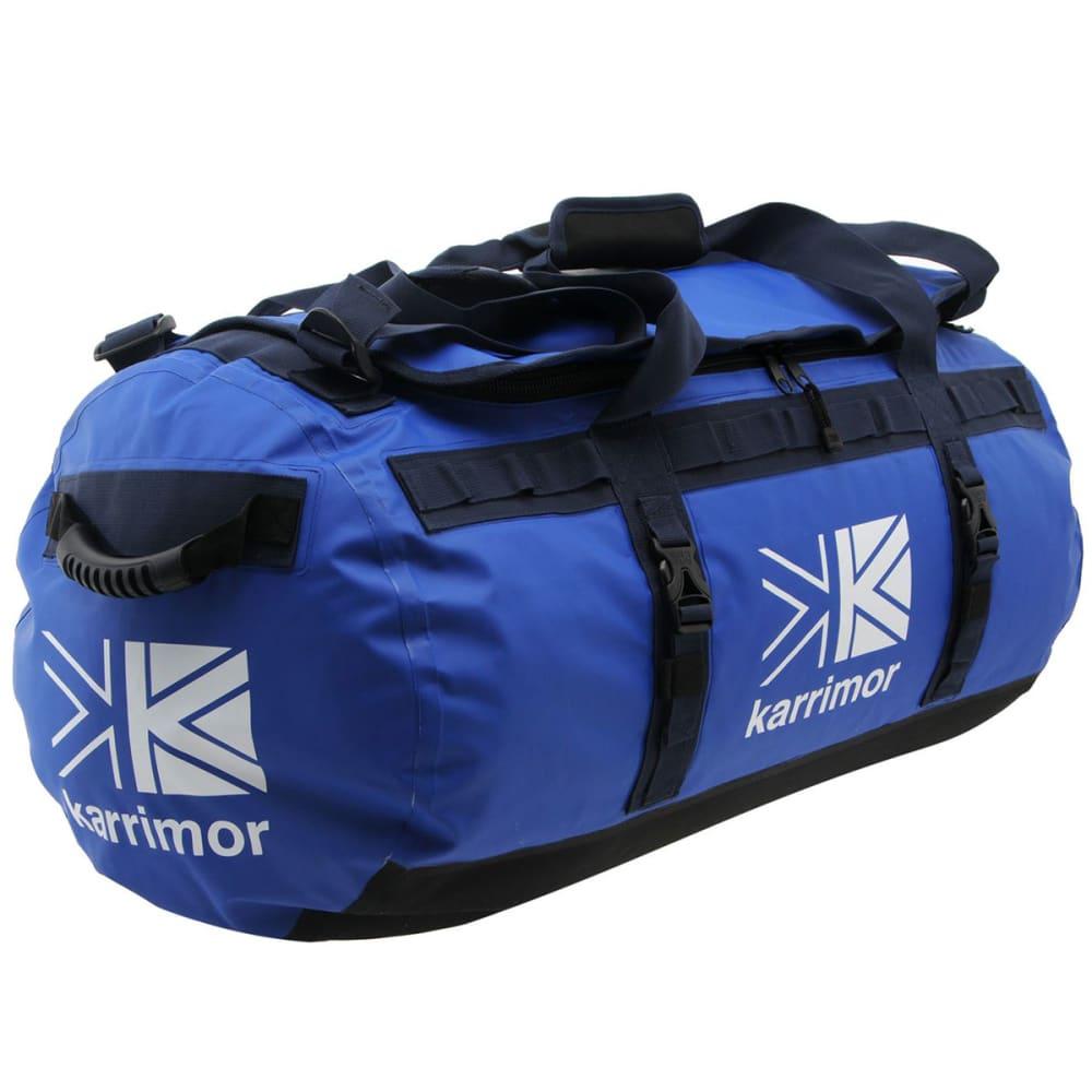 KARRIMOR 90L Duffle Bag - Azure Blue/Ink