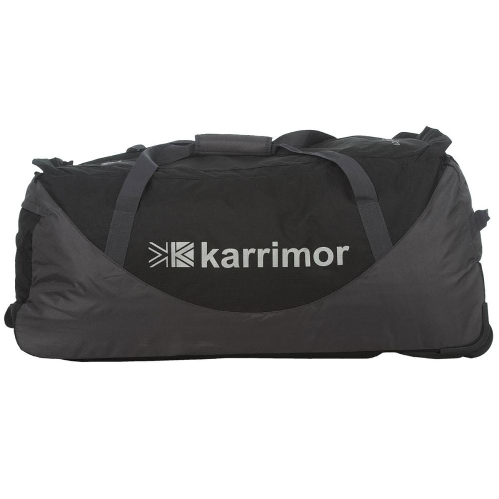 KARRIMOR 100L Voyager Wheeled Bag - BLACK/CINDER