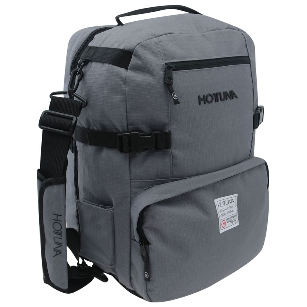 HOT TUNA Mini Travel Backpack - CHARCOAL/BLACK