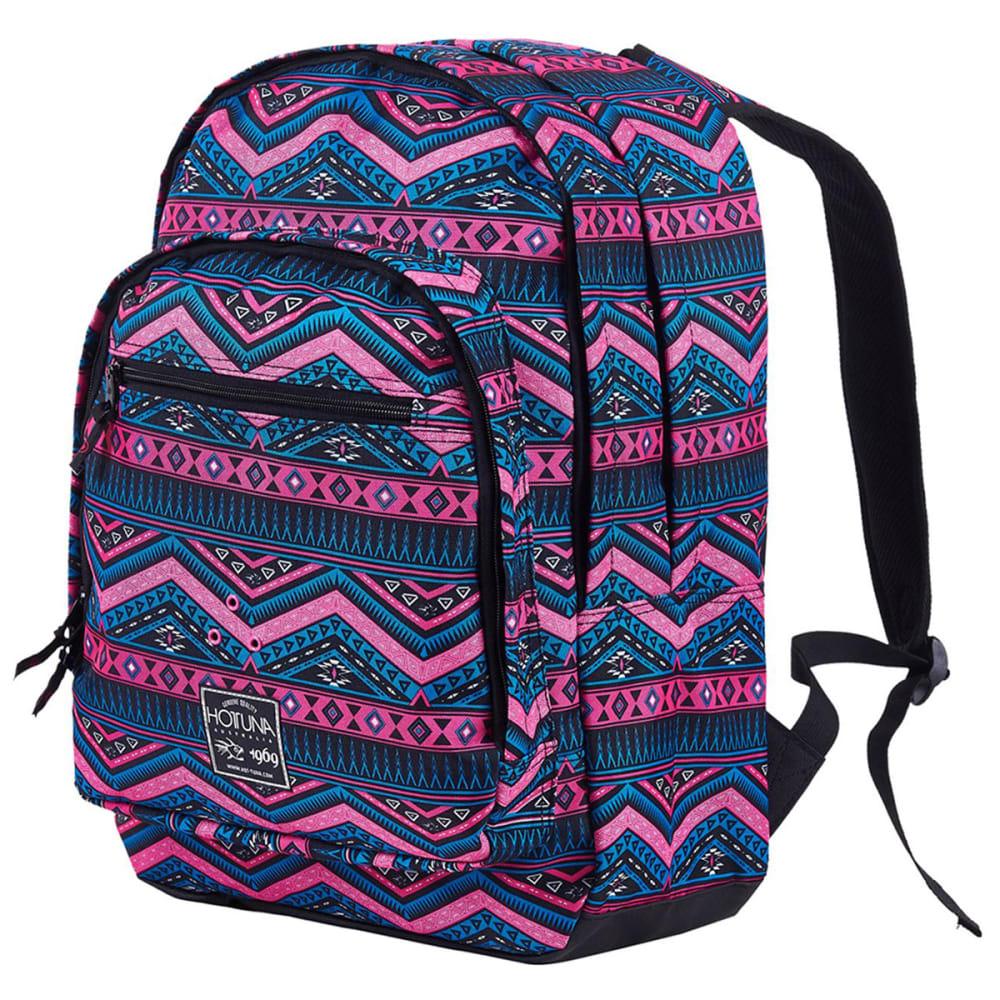 HOT TUNA Print Backpack - Pink Tribal