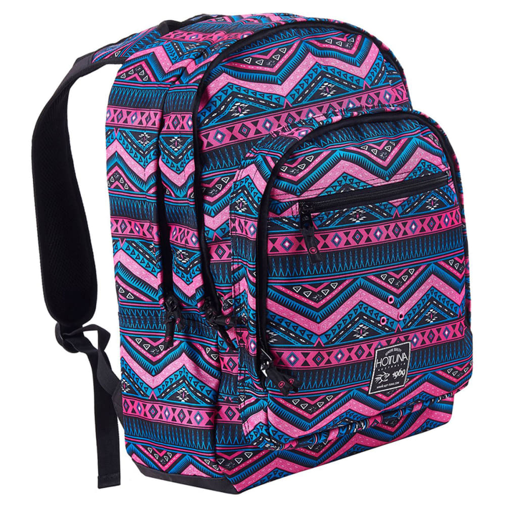HOT TUNA Print Backpack - Pink Tribal
