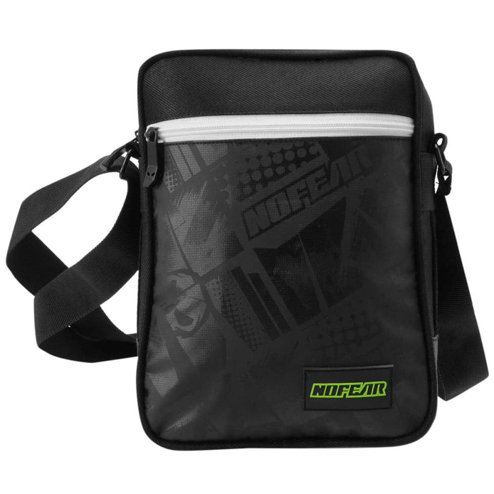 NO FEAR MX Gadget Bag - Black/White/Grn