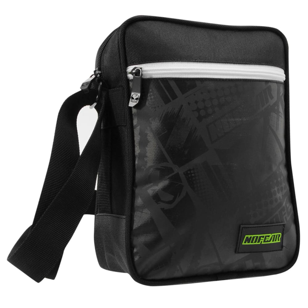 NO FEAR MX Gadget Bag - Black/White/Grn
