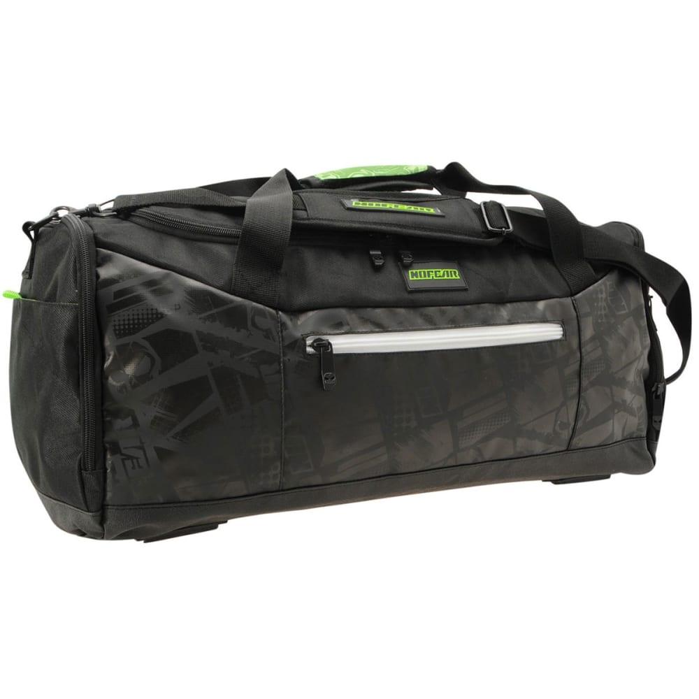 NO FEAR MX Duffel Bag - Black/White/Grn