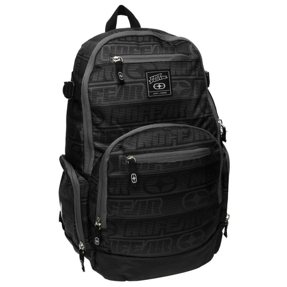 NO FEAR Tonal Backpack - CHARCOAL/BLACK