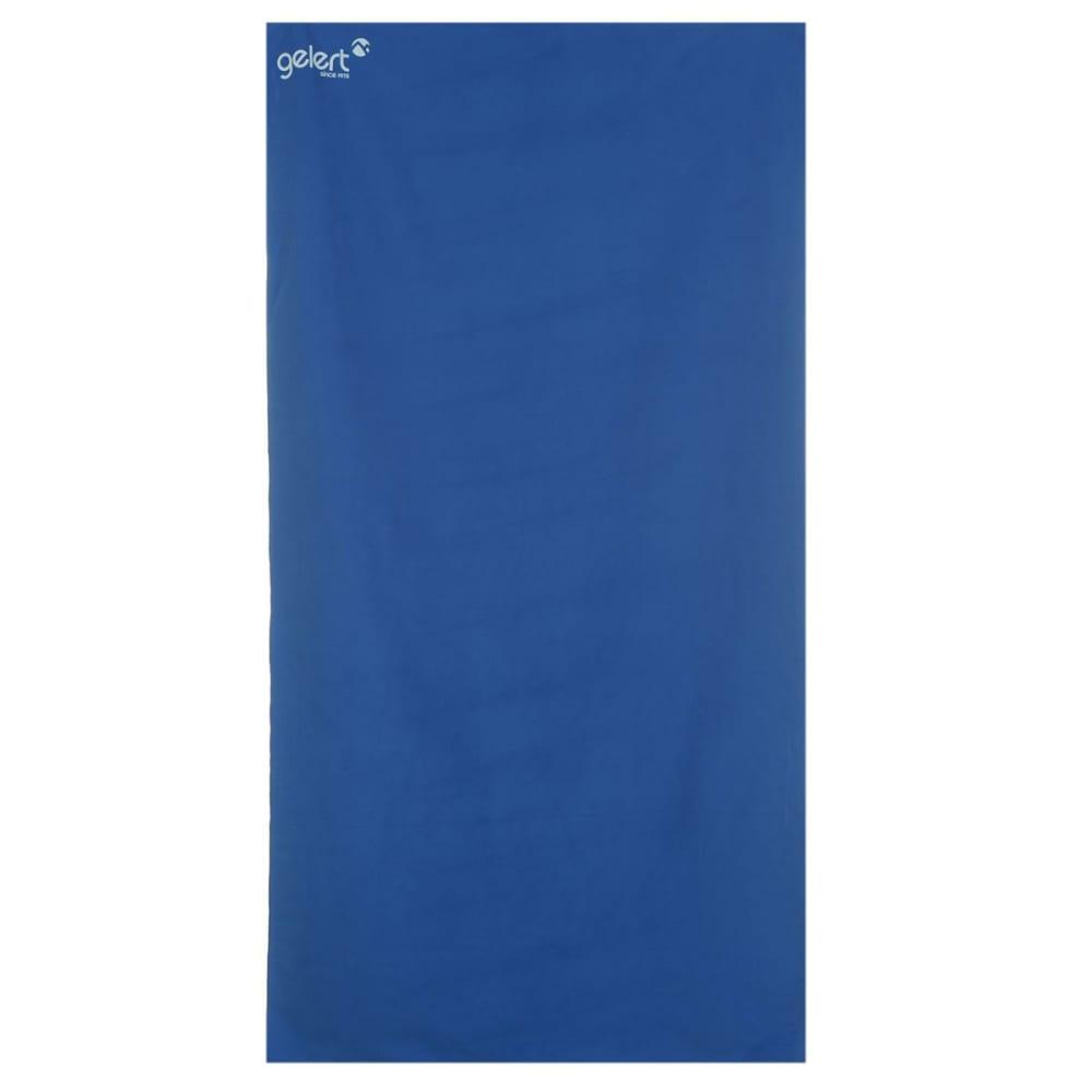 GELERT Soft Towel, Large - BLUE