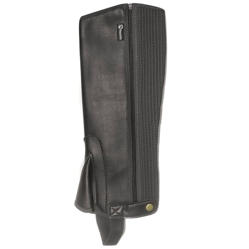 REQUISITE Women's Synthetic Riding Chaps - BLACK