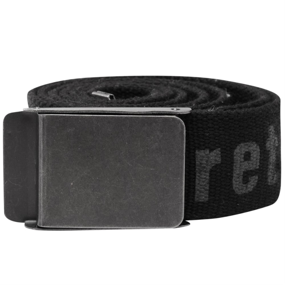 FIRETRAP Men's Raised Belt - BLACK