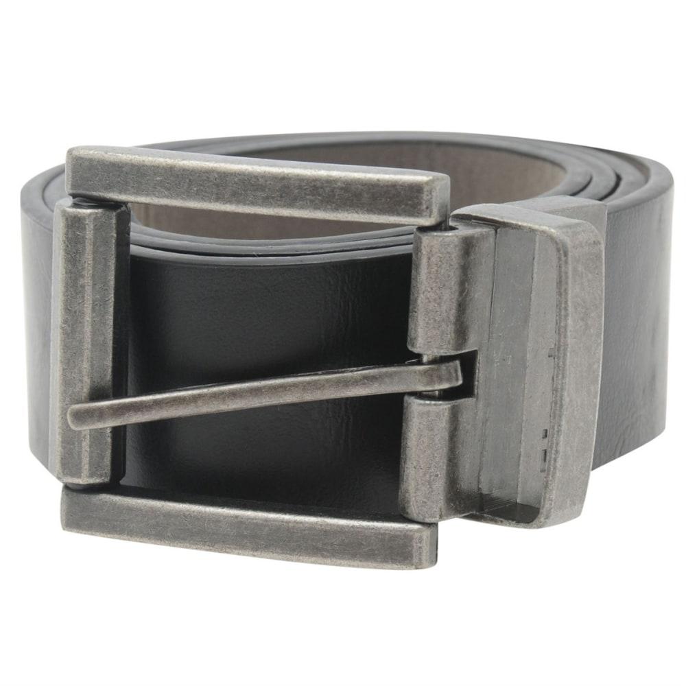 FIRETRAP Reverse Belt - BLACK/GREY