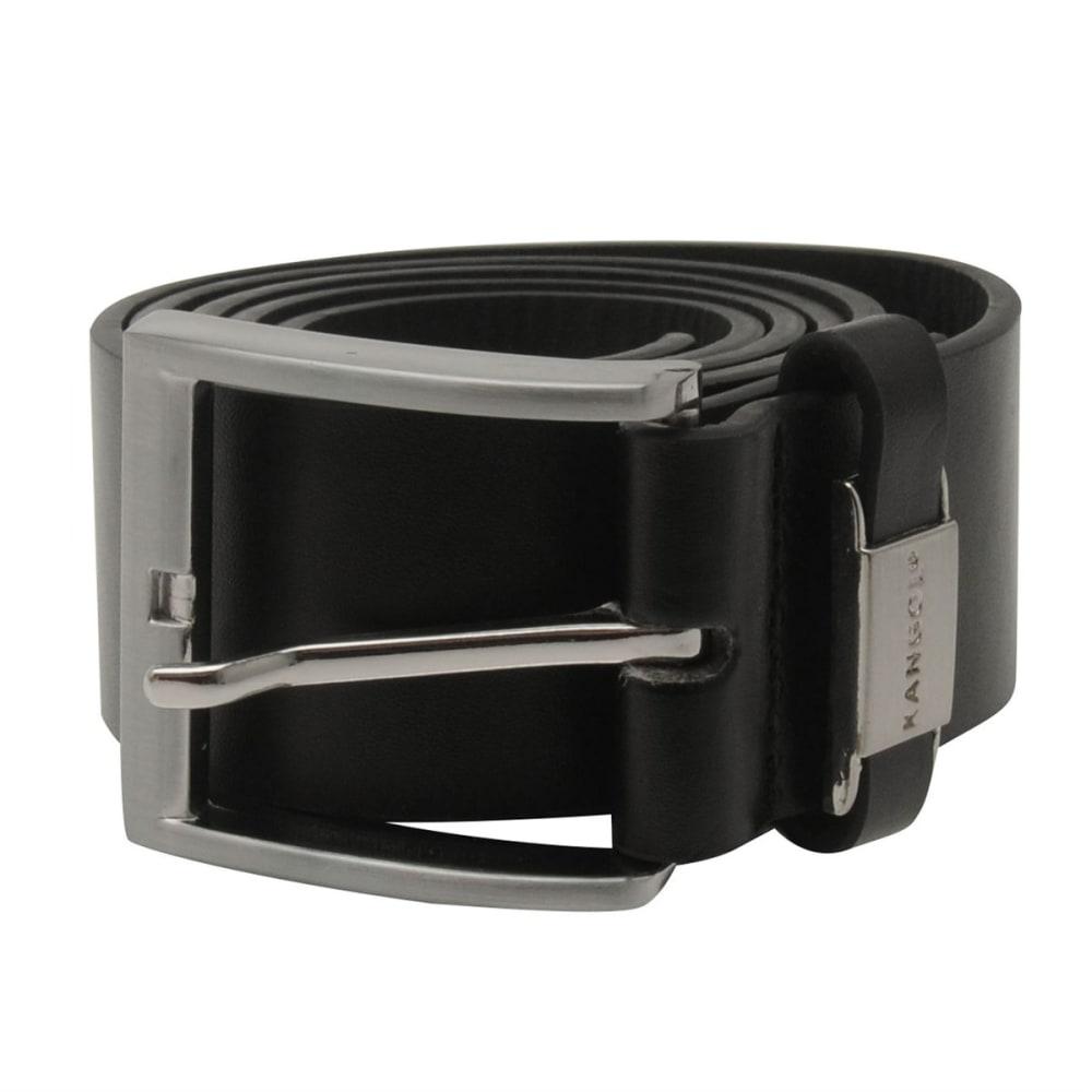 KANGOL Men's Embossed Belt - BLACK