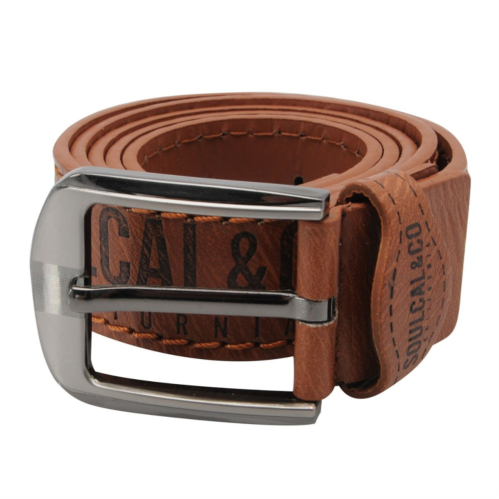SOULCAL Logo Belt - TAN