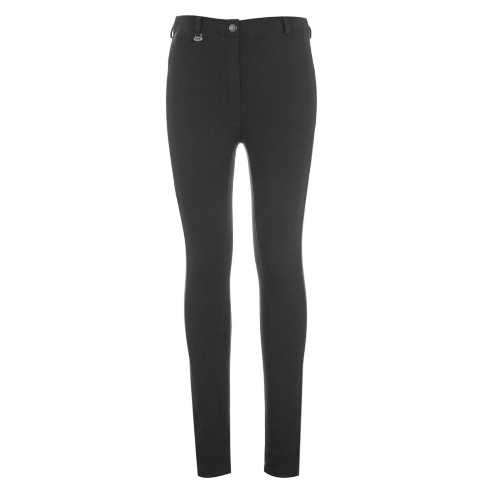 REQUISITE Big Girls' Classic Jodhpur Pants - BLACK