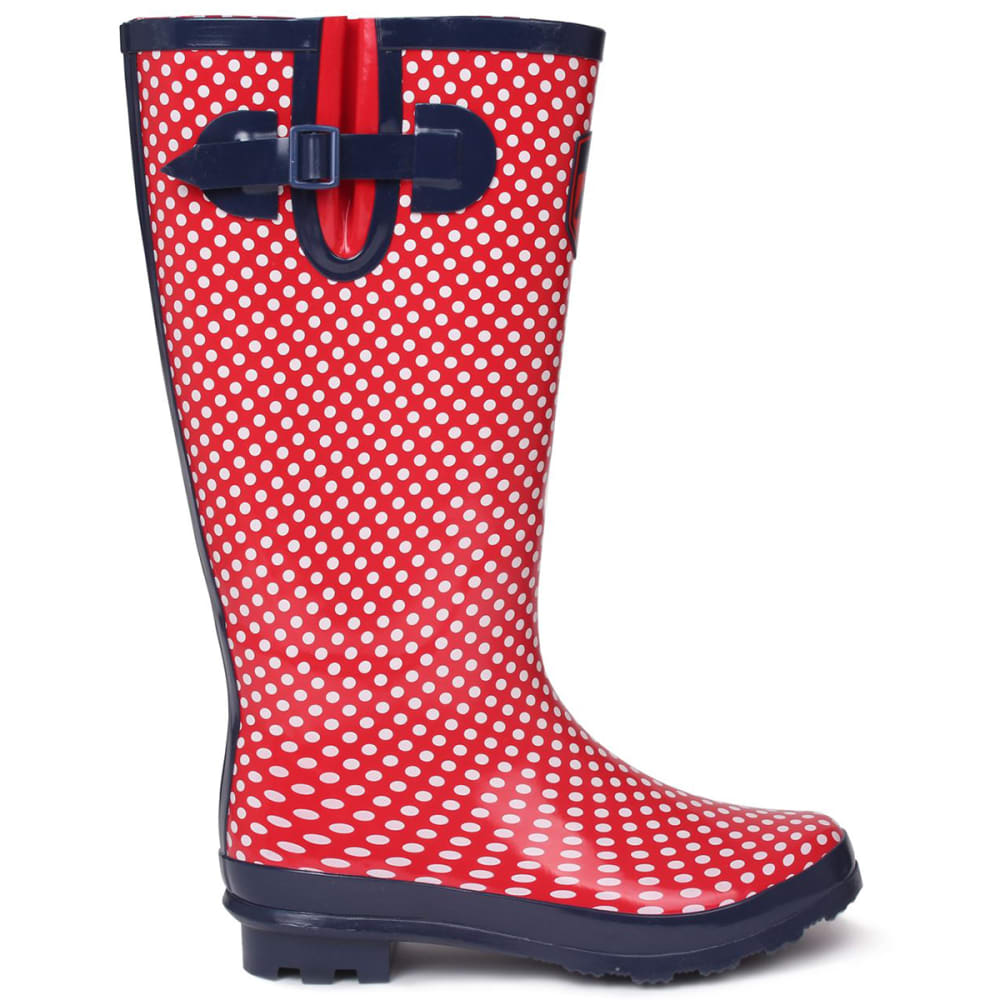 REQUISITE Women's Spot Tall Rain Boots 5