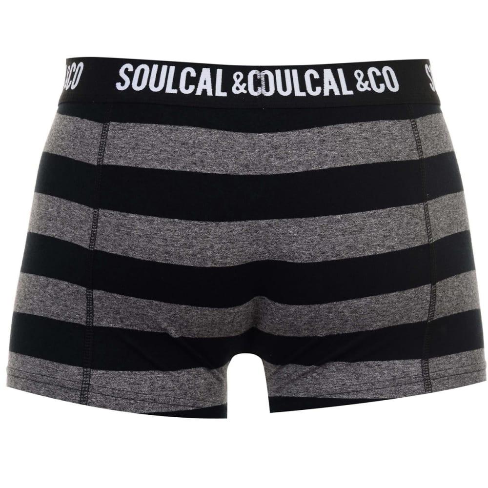 SOULCAL Men's Trunks, 2-Pack - Anthra/Stripe