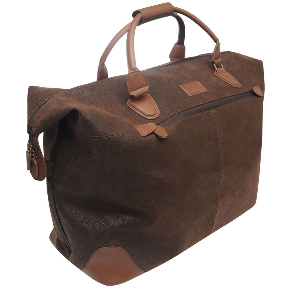 KANGOL Overnight Carry Bag - BROWN