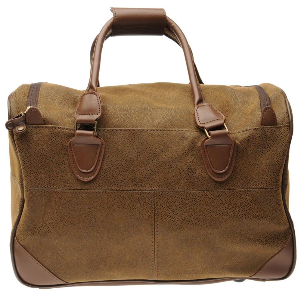 KANGOL Small Carry Bag - BROWN