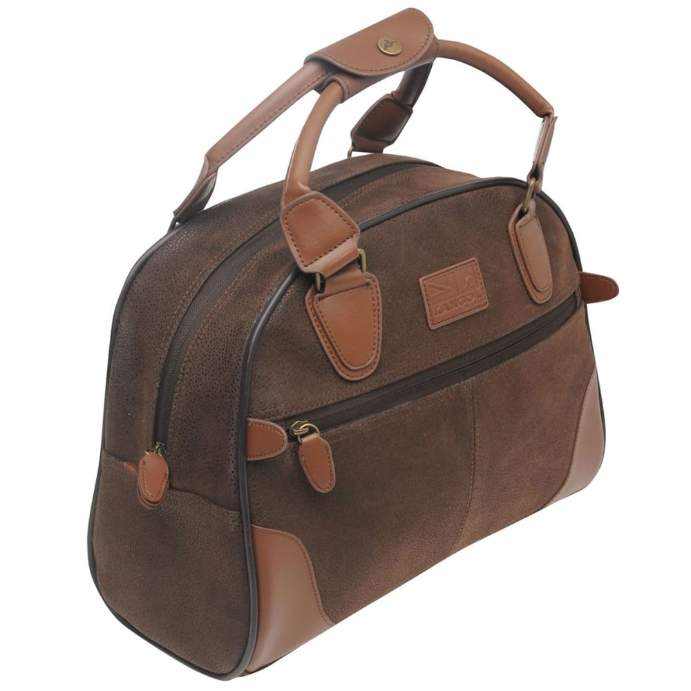 KANGOL Carry-On Bag, XS - BROWN