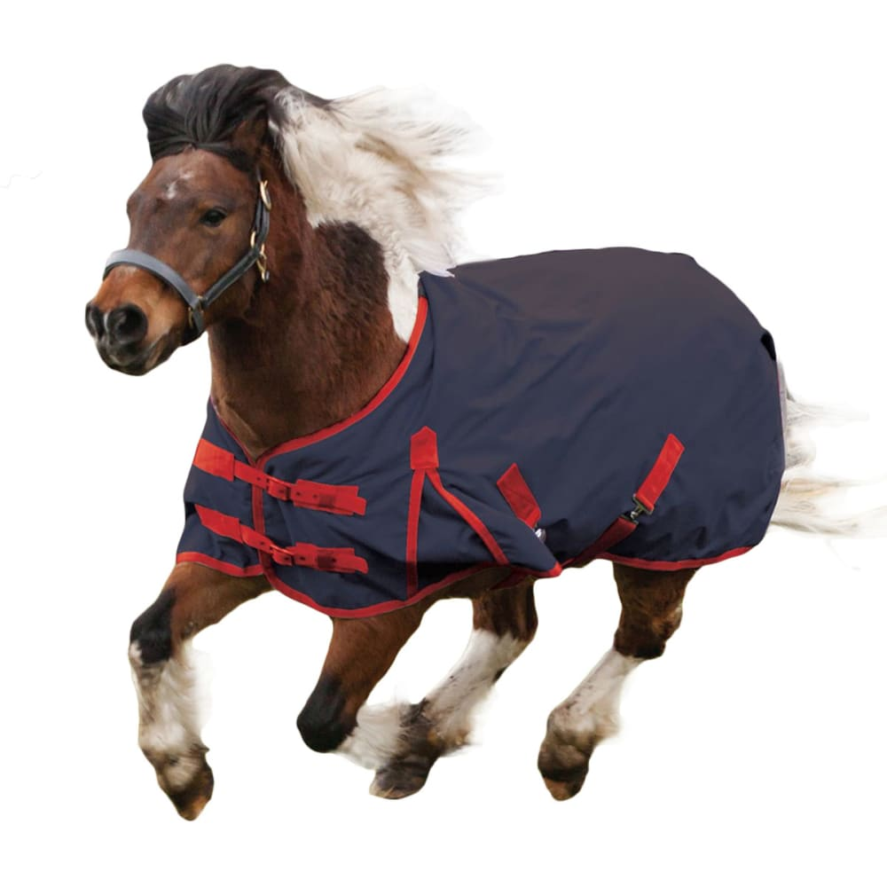 Cosy Pony Standard Medium Lite Standard Turnout - Blue, 5FT