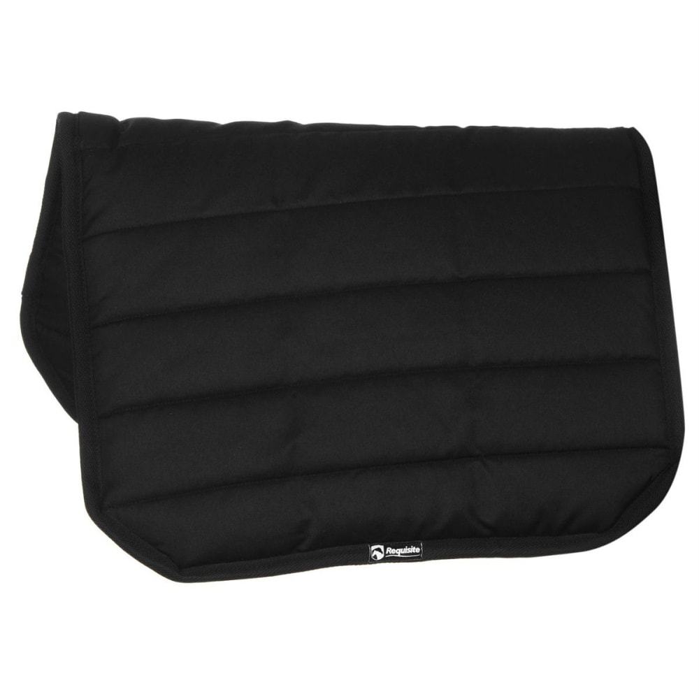REQUISITE Comfy Horse Pad - BLACK