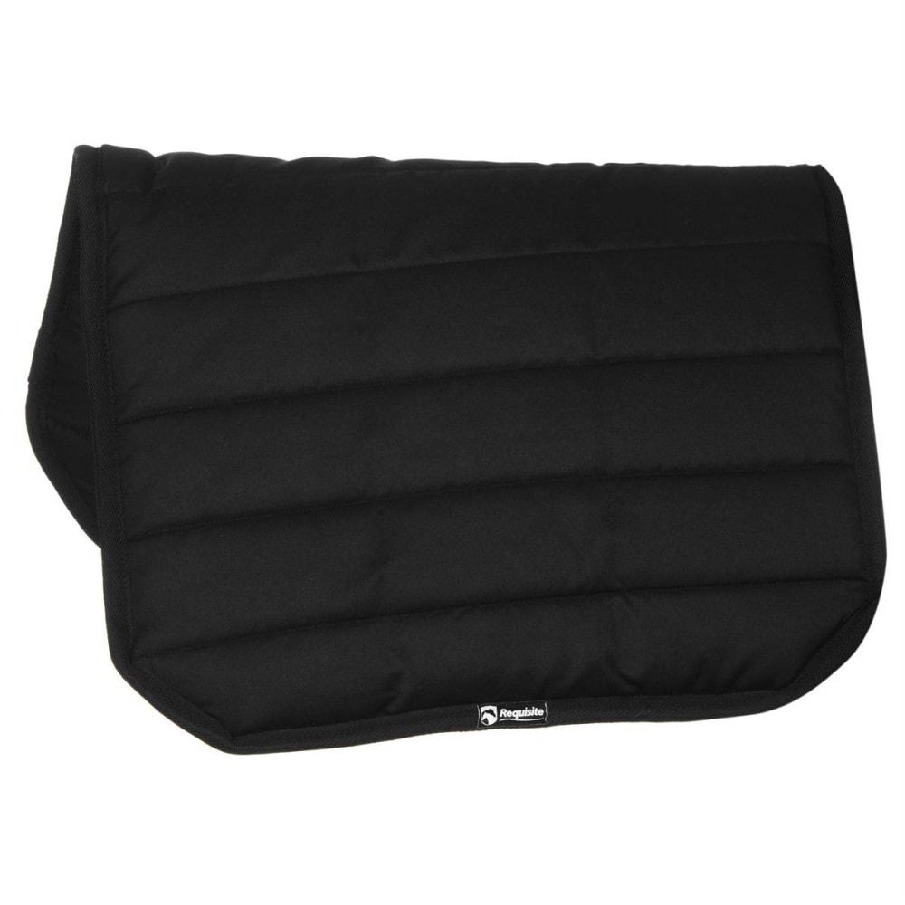 REQUISITE Comfy Horse Pad - BLACK