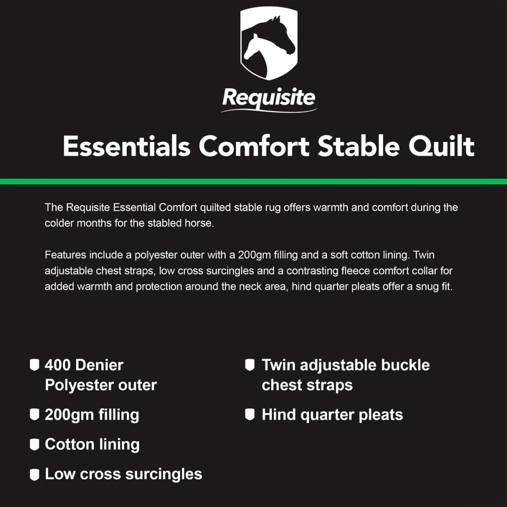 REQUISITE Essentials Comfort Medium Stable Quilt - NAVY