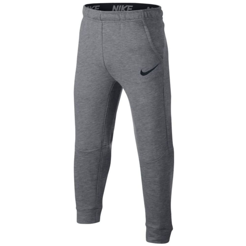 NIKE Little Boys' Dry Fleece Pants - CARBON HTR-GEH-HB