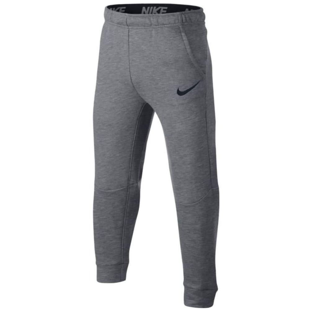 NIKE Little Boys' Dry Fleece Pants - CARBON HTR-GEH-HB