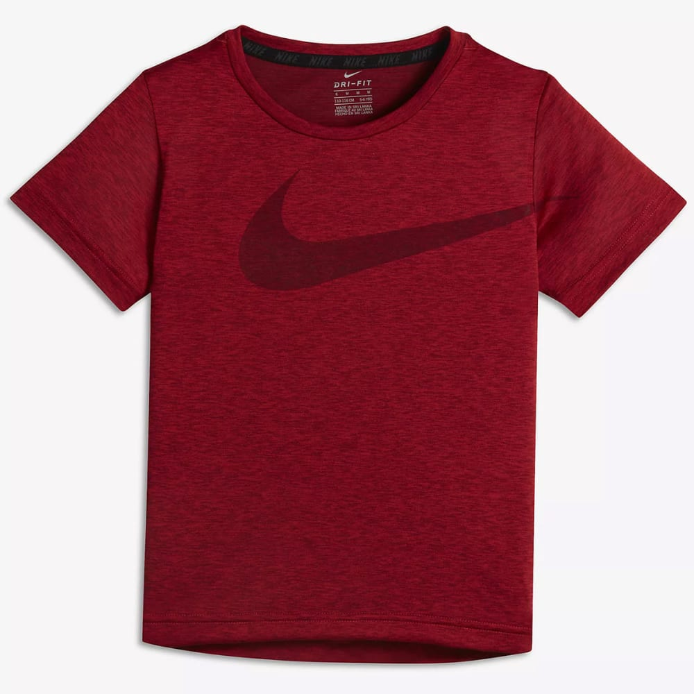 NIKE Little Boys' Dry Short-Sleeve Tee - UNIVERSITY RED-R1U