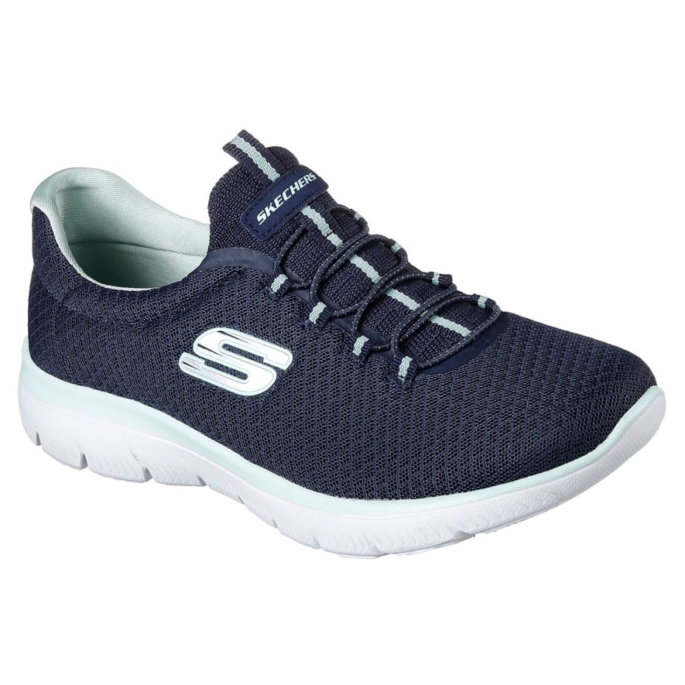Skechers Women's Summits Sneakers - Blue, 6.5