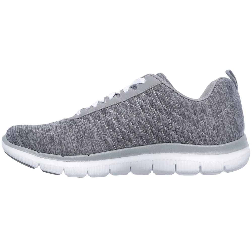 SKECHERS Women's Flex Appeal 2.0 Sneakers - GREY-GRY