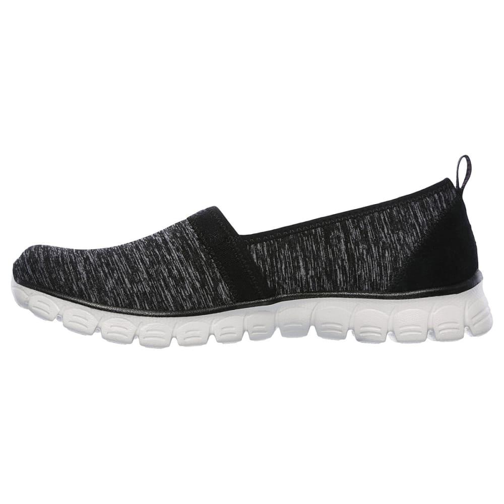 SKECHERS Women's EZ Flex 3.0 - Swift Motion Casual Slip-On Shoes - BLK/GRY