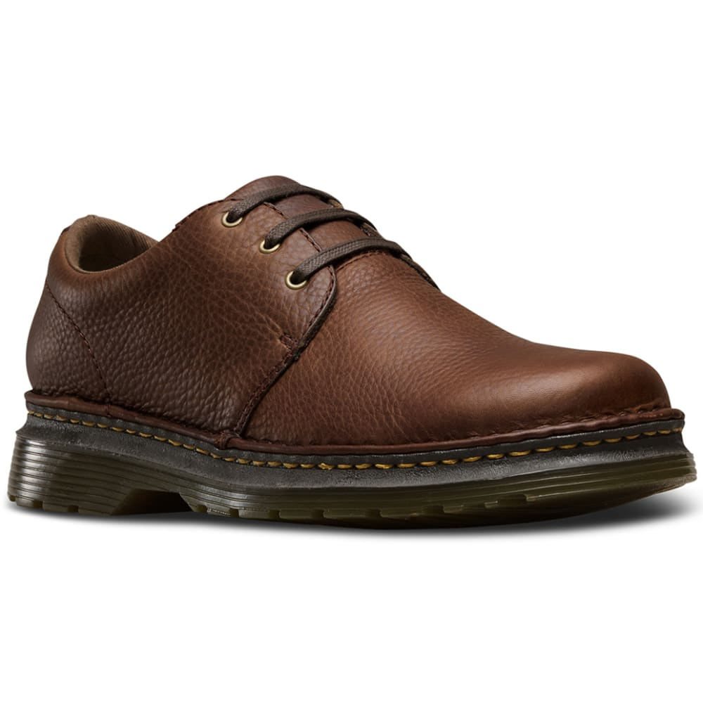 Dr. Martens Men's Hazeldon Casual Shoes - Brown, 8