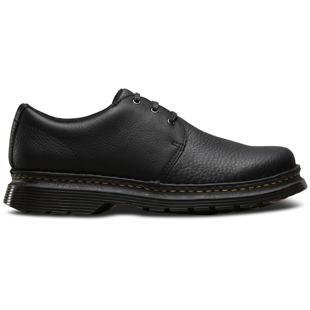 DR. MARTENS Men's Hazeldon Casual Shoes, Black Grizzly - BLACK
